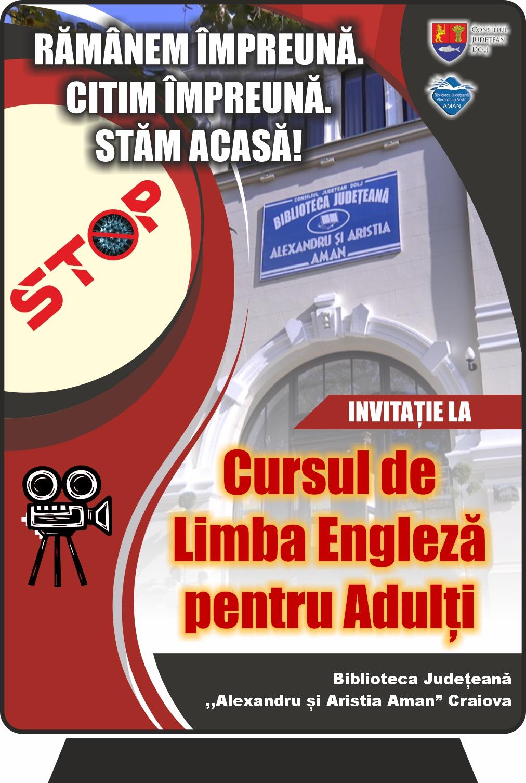 Program de învăţare a limbii engleze pe site-ul Bibliotecii