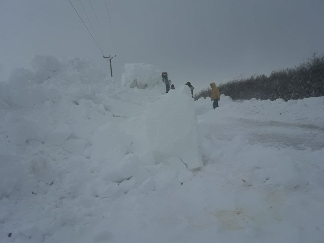 Vreme de iarnă în Oltenia