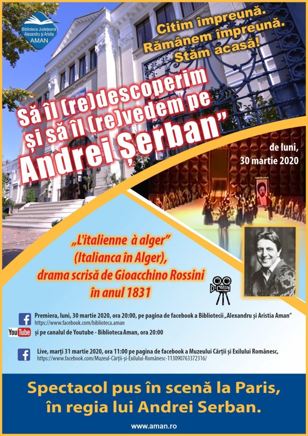 Spectacole de teatru și operă jucate pe marile scene din străinătate și care poartă amprenta marelui regizor Andrei Șerban