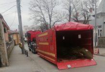 """Un cort pentru triaj epidemiologic a fost instalat, astăzi, la Spitalul """"Filantropia"""" din Craiova"""