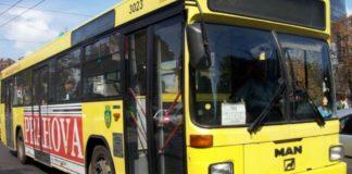 Bărbat, prins într-un autobuz cu simptome ale virusului COVID-19
