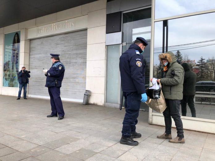 Peste 5.600 de români au fost amendați în prima zi de carantină