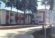 Spațiul în care ar putea fi cazați medicii, pregătit pentru a fi mutată secția Psihiatrie