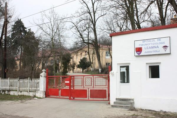 Spitalul de Pneumoftiziologie Leamna, unitate suport pentru Spitalul de Boli Infecțioase «Victor Babeș» din Craiova