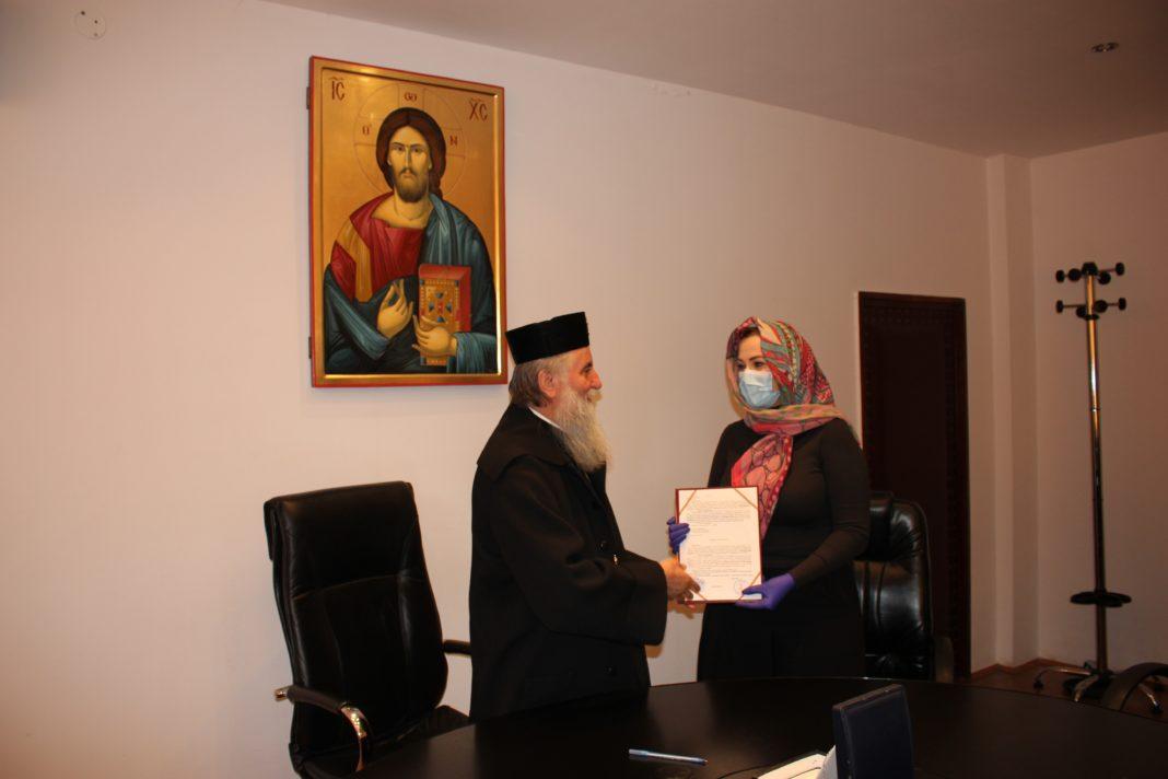 """Un aparat pentru tratarea pacienţilor infectaţi cu COVID-19 a fost donat de Arhiepiscopia Craiovei Spitalului """"Victor Babeş"""" din Craiova"""