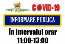 În intervalul 11.00 - 13.00, au prioritate în pieţele craiovene persoanele care au împlinit vârsta de 65 de ani