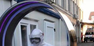 7 tuneluri de dezinfecție au fost instalate în Gorj