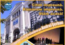 """Biblioteca """"Aman"""" prezintă mâine pe pagina sa de facebook """"Neguțătorul din Veneția"""", în regia marelui Andrei Șerban."""