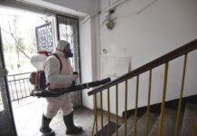 Salubritatea reia dezinfecţia în blocuri