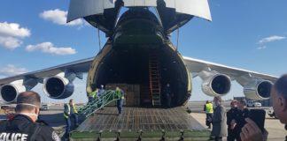 Un avion încărcat cu ajutor umanitar, trimis de Rusia pentru a sprijini Statele Unite în lupta împotriva coronavirsului