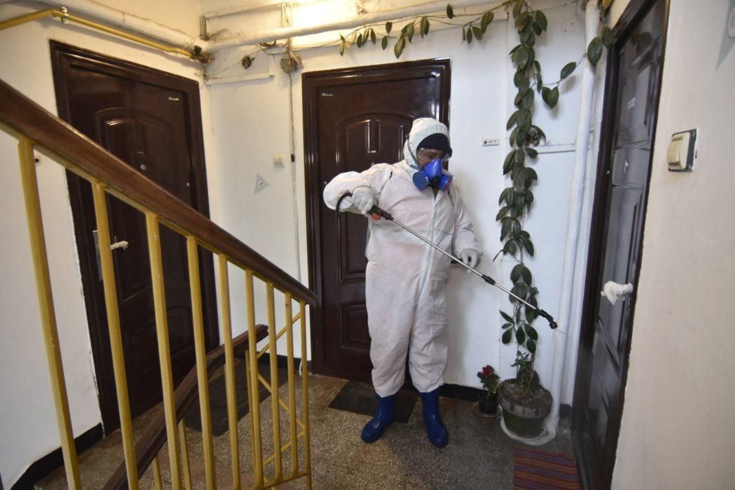 Dezinfecţia în blocurile din Craiova se va face cu Bionet