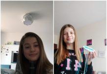 Elevi și proiecte lucrate acasă pentru activități on-line la Școala gimnazială Gheorghe Țițeica din Craiova