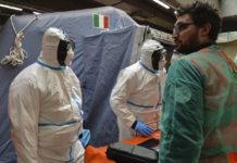 Ce măsuri au luat medicii de la un spital din Italia de a nu se infecta cu Covid-19