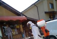DezinfDezinfecţie în comuna Malu Mare