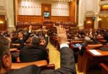 vot in Parlamentul Romaniei