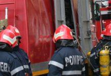 Persoană găsită carbonizată într-un vagon de tren care a luat foc