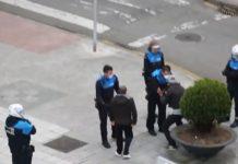 Reacţia unui român prins de poliţia spaniolă pe stradă, fără motiv