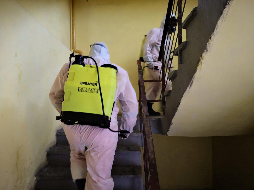 Salubritatea amendată pentru folosirea Aldezinului în scările de bloc
