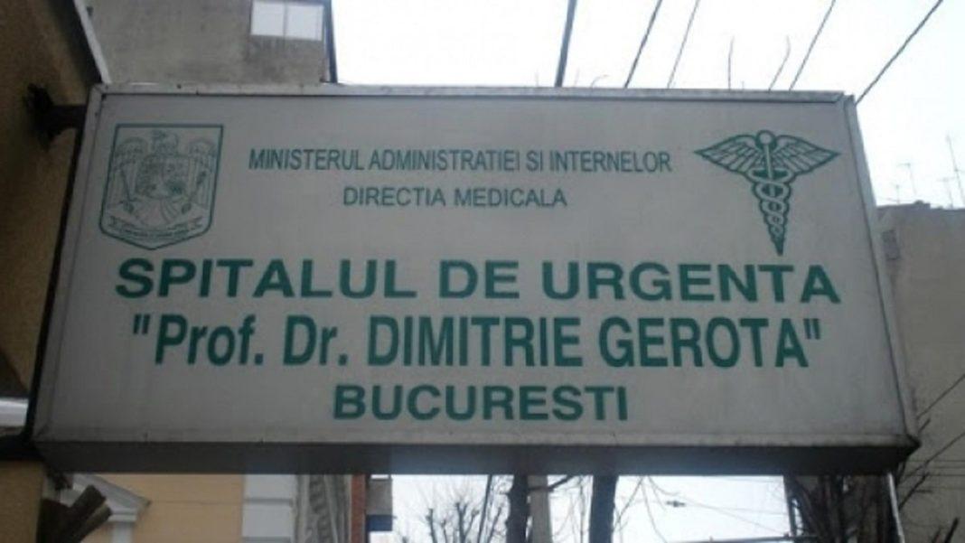 La nivelul spitalului Gerota au fost efectuate activități de dezinfecție și igienizare, iar în acest moment carantină a fost ridicată