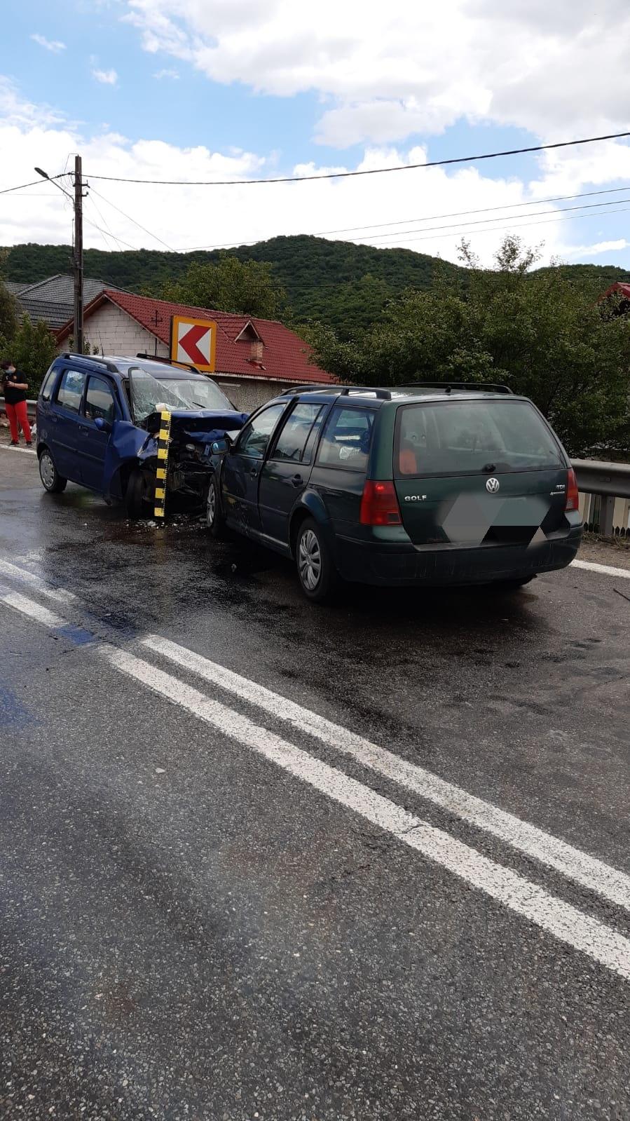 Accident la Budești