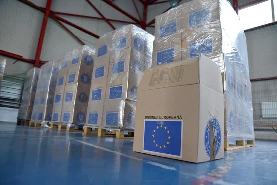 În perioada 3 -17 iulie, vor fi recepționate produsele de igienă și produsele alimentare din cadrul Programului Operațional Ajutorarea Persoanelor Defavorizate