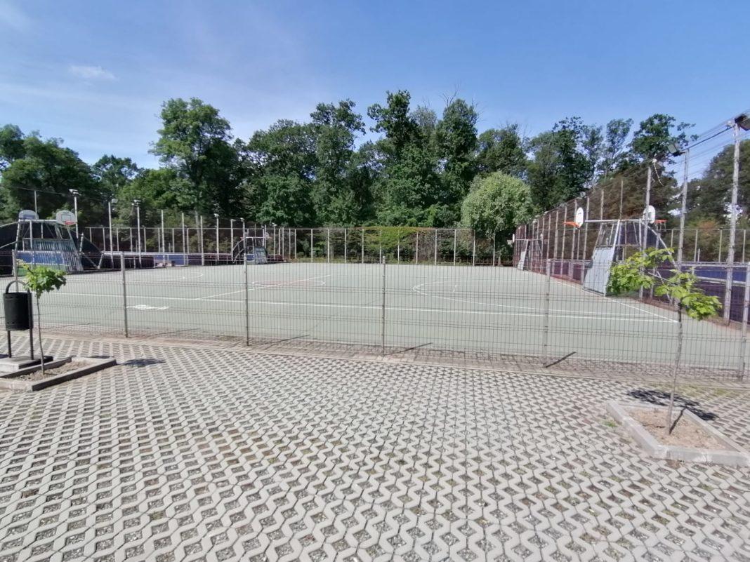 Terenurile sportive din Parcul Tineretului, deschise pentru craioveni
