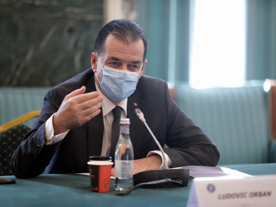 Orban: 1200- 1600 de infectări pe zi, la mijlocul lunii august