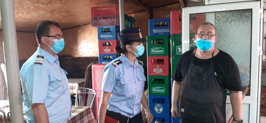 Pompierii mehedințeni au continuat acțiunile de control în localuri, piețe, ștranduri