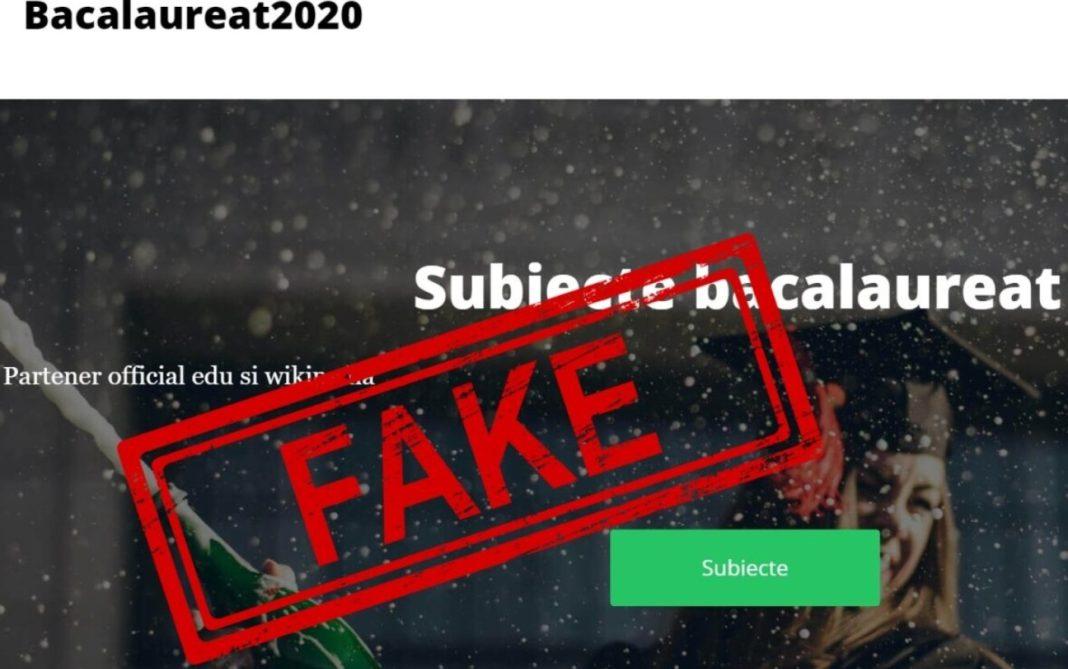 Subiecte false la Bacalaureat, vândute pe internet