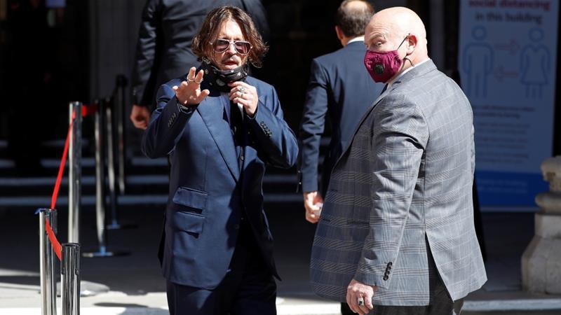 Johnny Depp respinge acuzaţiile de agresiune în cadrul procesului intentat tabloidului The Sun