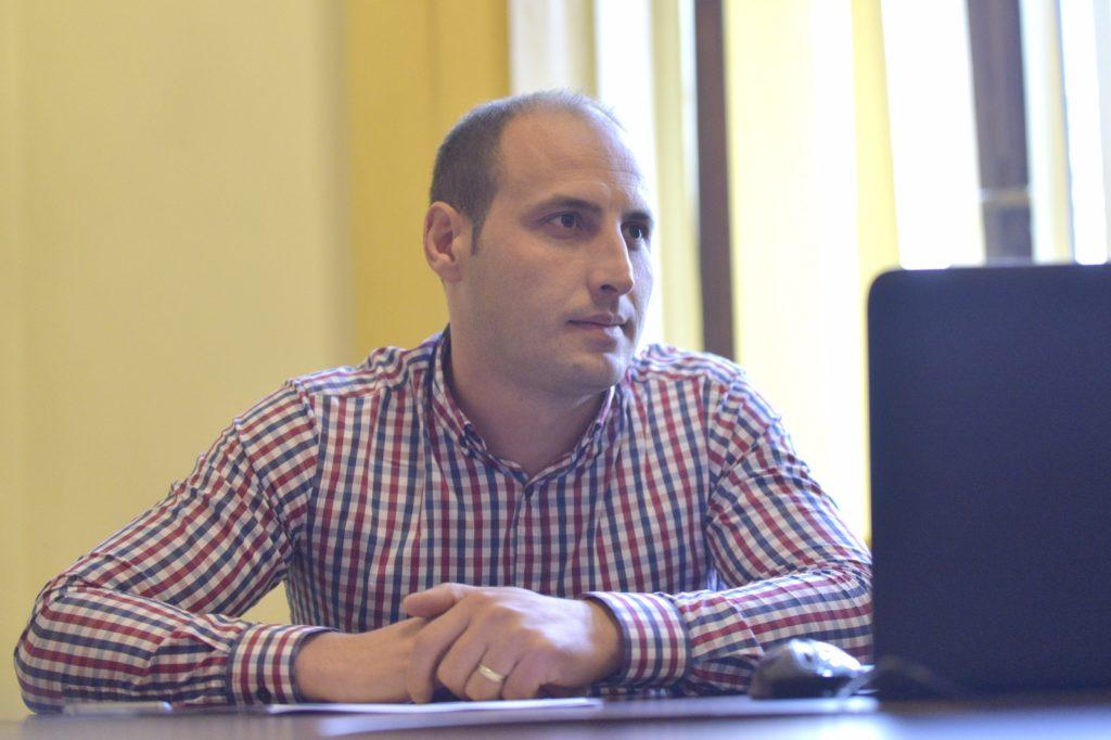Alin Mărăcine, director general și administrator la Piețe și Târguri SRL