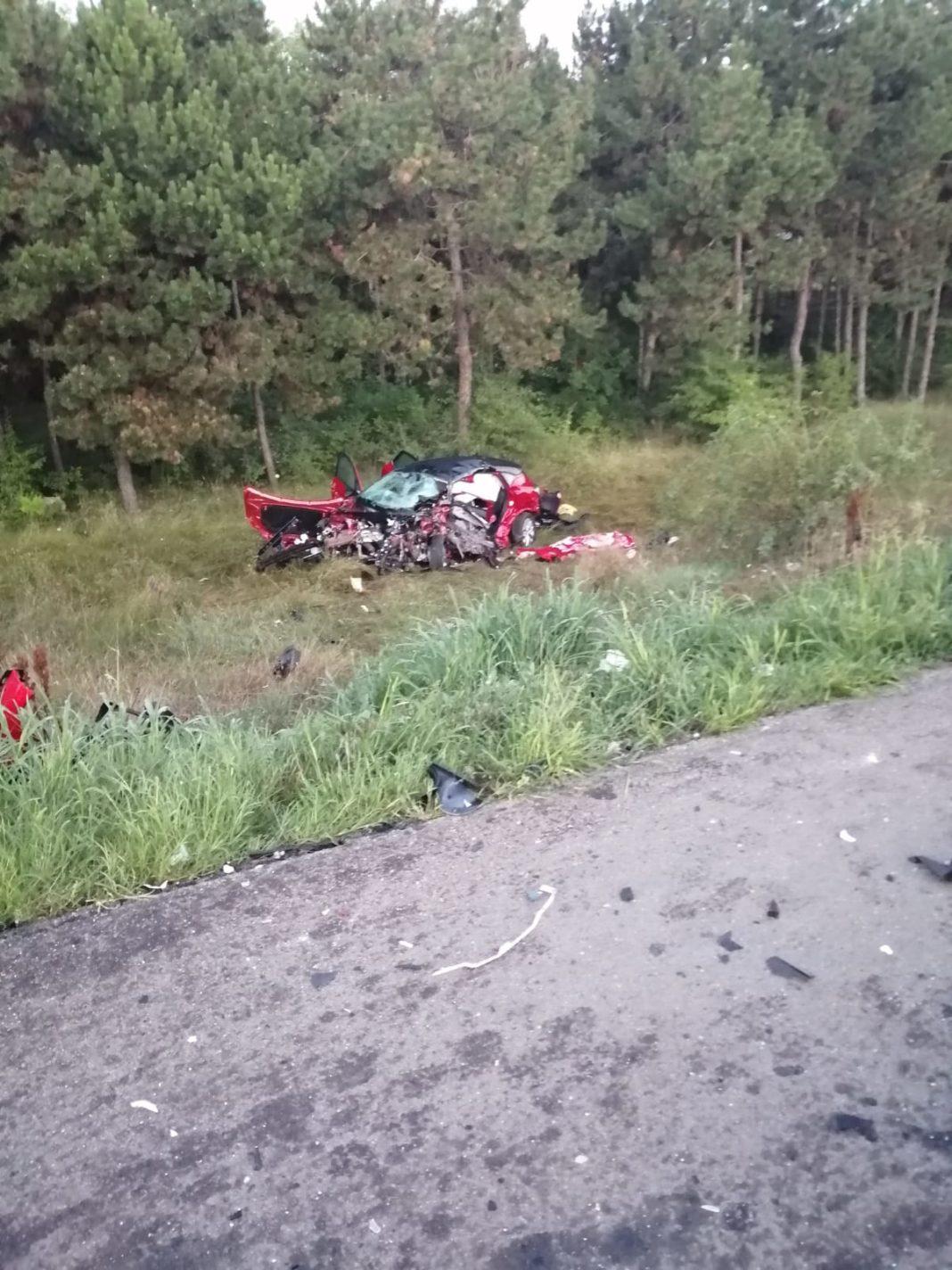 Accidentul de pe Centura de Nord, produs de un șofer sinucigaș