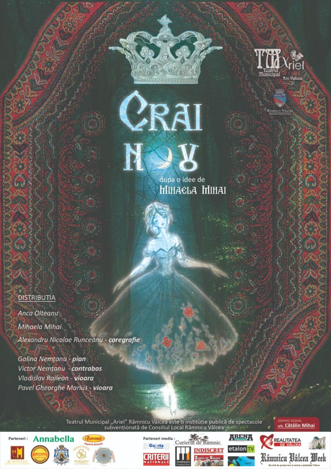 Crai Nou, un spectacol ce îmbină veselia, zâmbetul, cu poezia, filmul, dansul, muzica și reîntâlnirea cu personaje feminine, reale, ale României