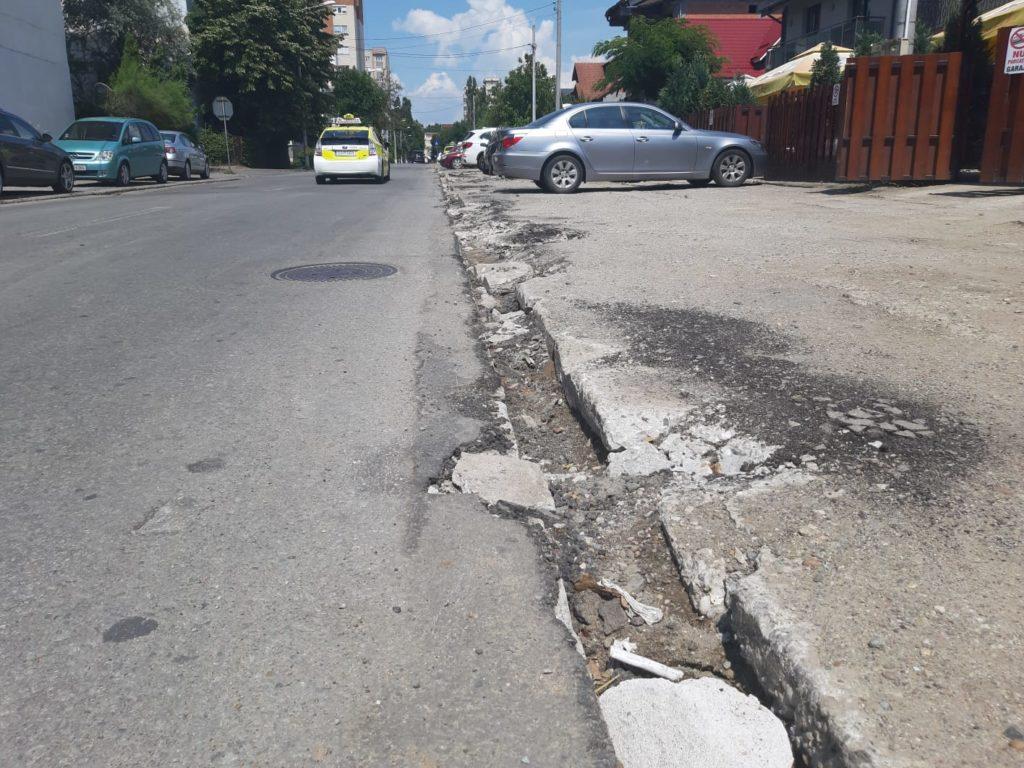 Strada Constantin Brâncoveanu din Craiova, în reparaţii de peste două săptămâni