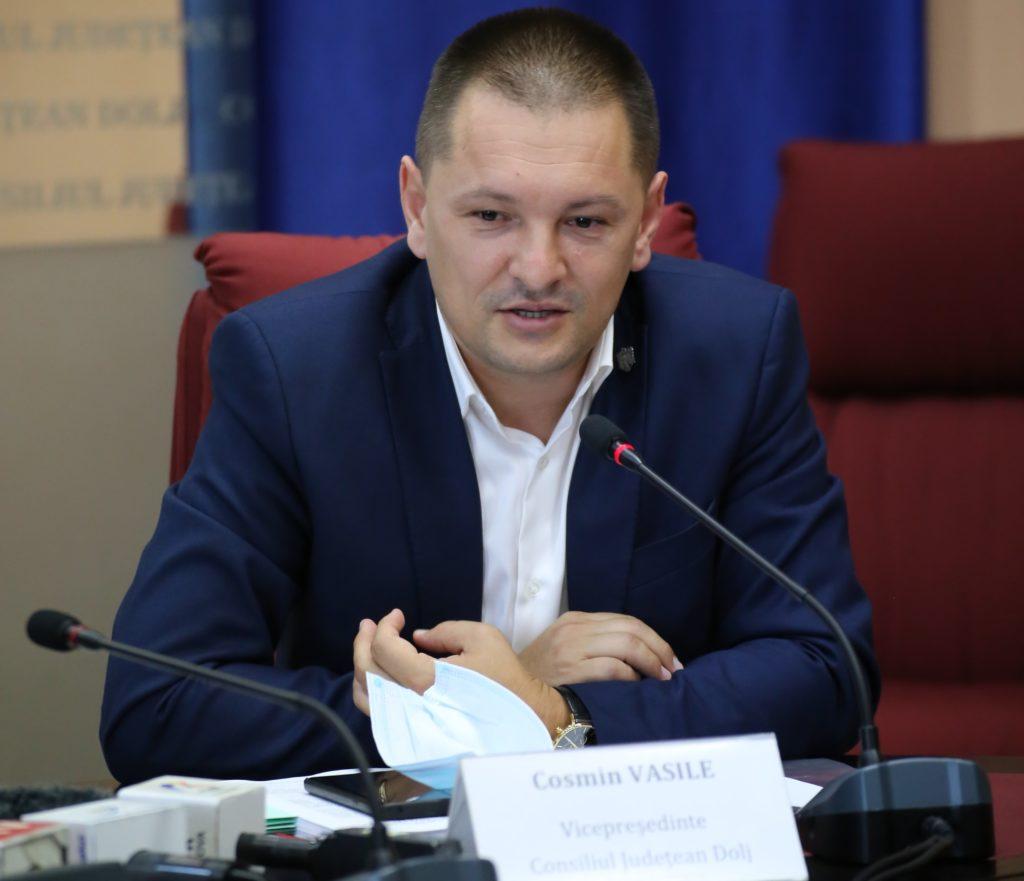 Cosmin Vasile, vicepreşedinte CJ Dolj