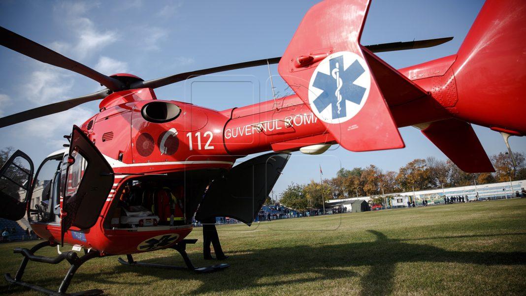 Coronavirus: Un pacient în stare gravă este adus cu elicopterul la Craiova