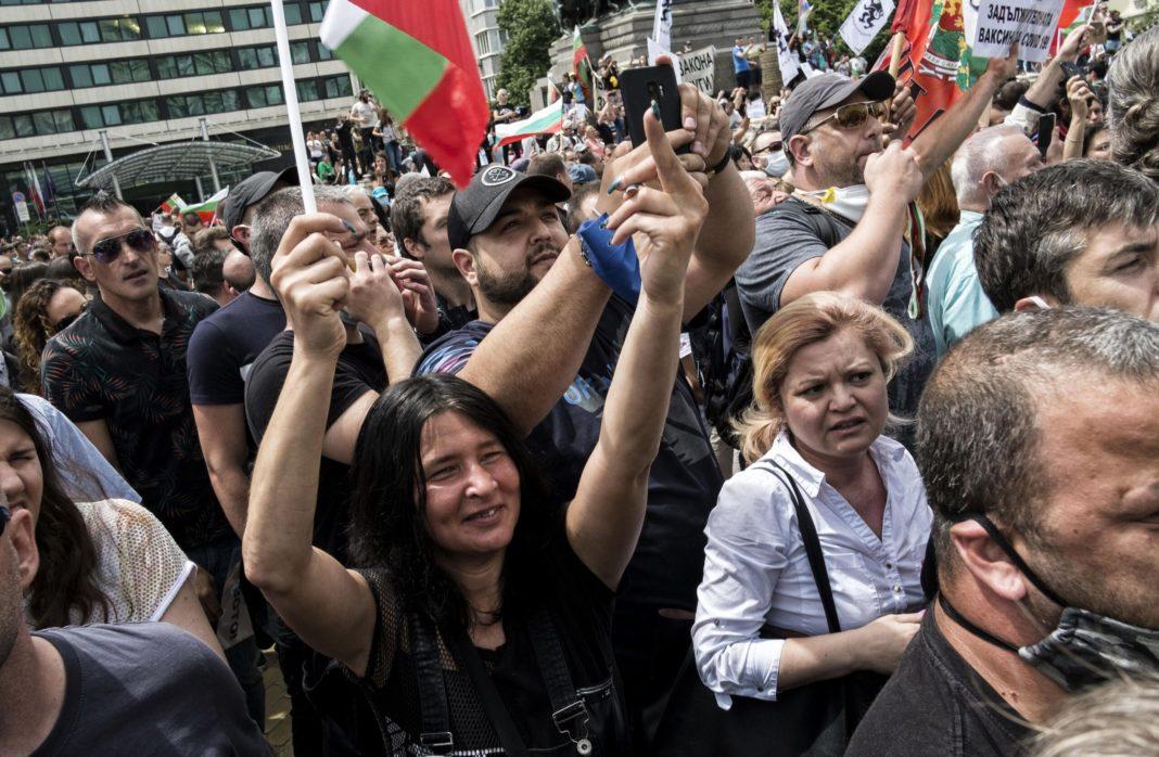 A opta zi de proteste antiguvernamentale în Bulgaria