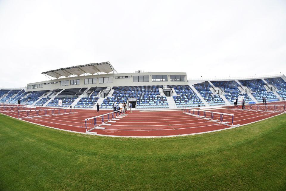 Stadionul de atletism din Craiova nu este încă gata pentru competiții oficiale