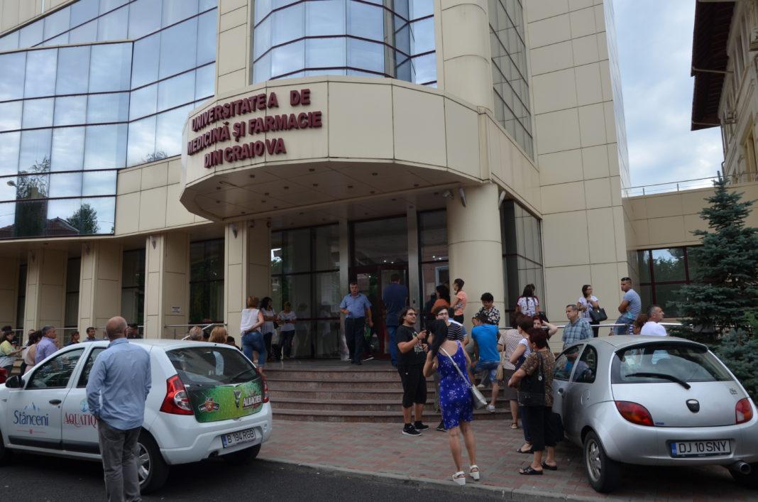 Noutăţi pentru admiterea la UMF Craiova