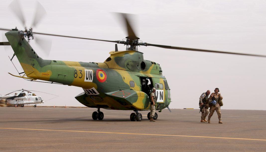 Elicopter românesc, distrus în Mali