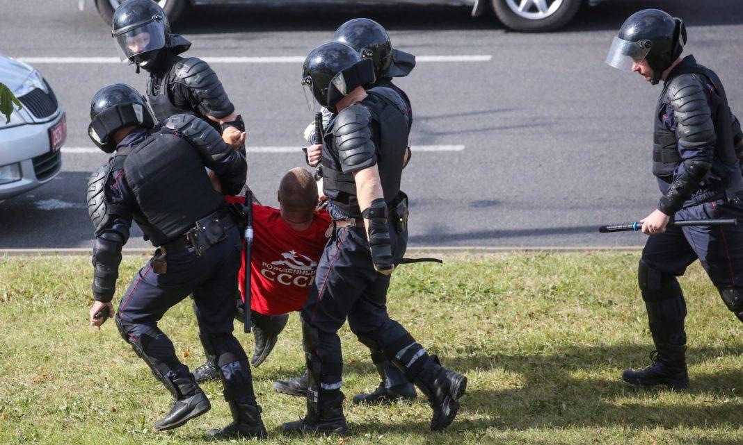 Protestetele au continuat în Belarus pentru a patra noapte consecutiv