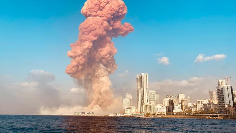Exploziile din Beirut: Președintele libanez evocă