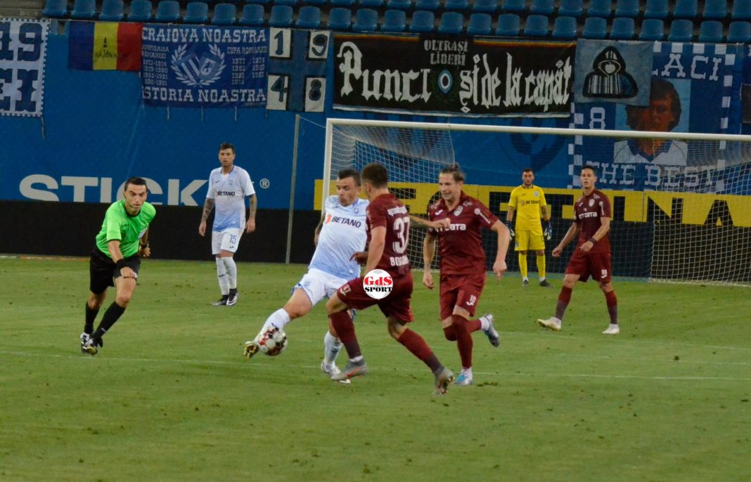"""Dan Nistor a fost """"motorul"""" Craiovei în meciul cu CFR Cluj (Foto: Alex Vîrtosu)"""