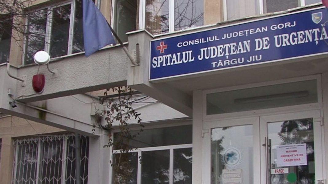 Trei angajați ai Spitalului Județean de Urgență din Târgu Jiu au fost depistați ieri cu COVID 19