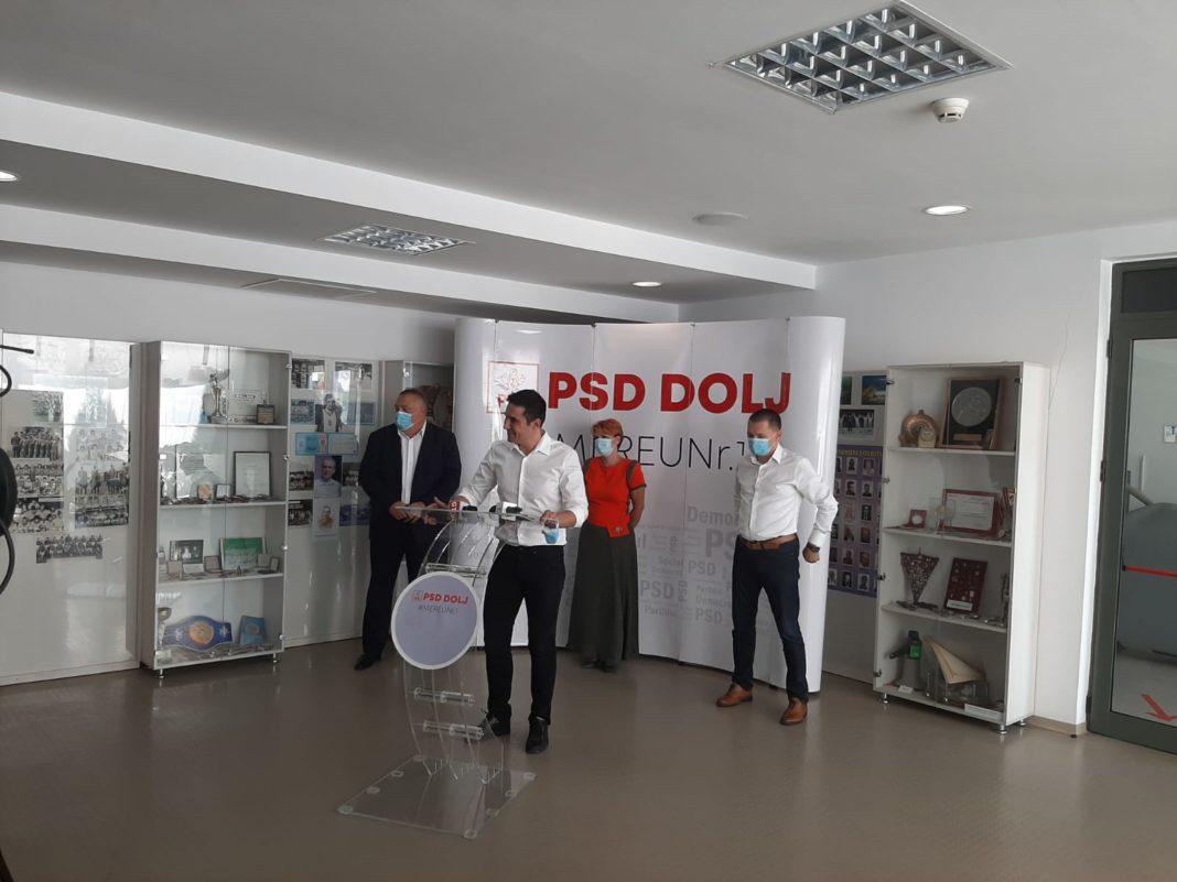 Cosmin Vasile va fi candidatul PSD la funcția de președinte al CJ Dolj