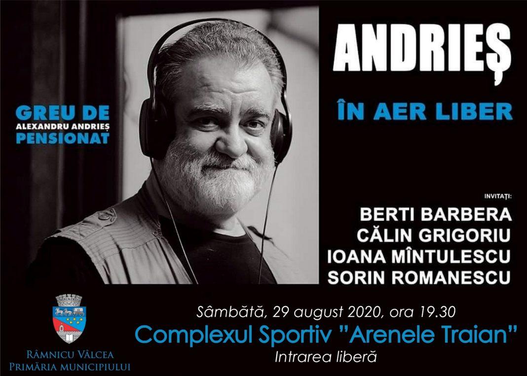 Sâmbătă, 29 august, de la ora 19.30, şi îl va avea ca protagonist pe Alexandru Andrieş