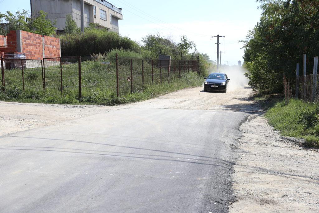 Aleea 1 Şimnic, proaspăt asfaltată