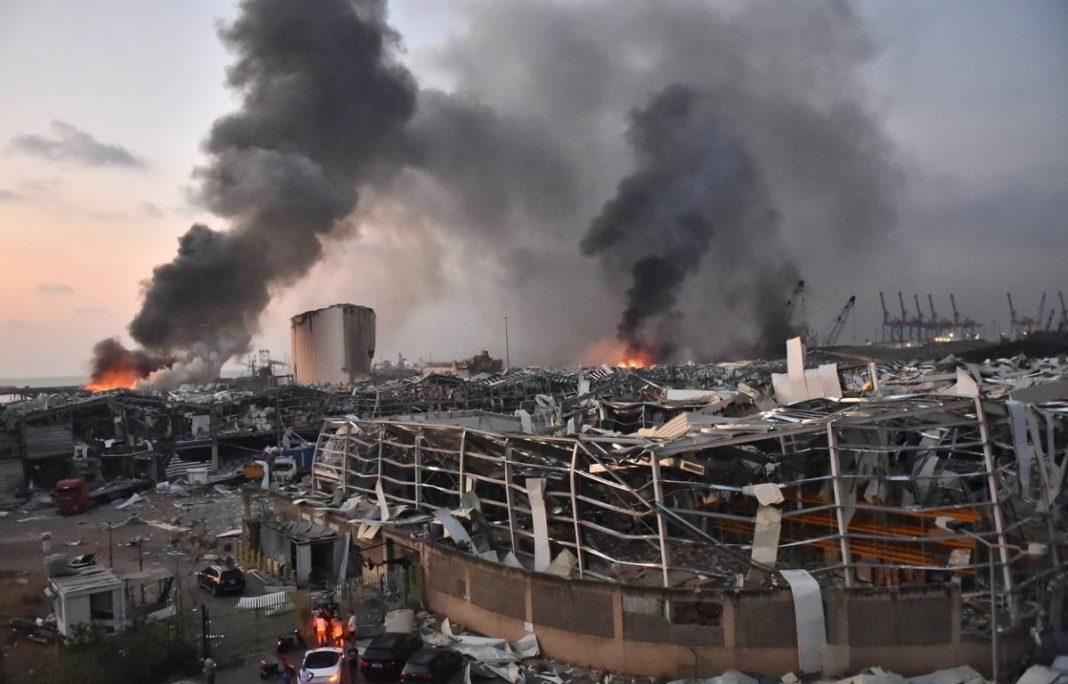 Explozia din Beirut s-a simțit până în Cipru, la 240 km distanţă