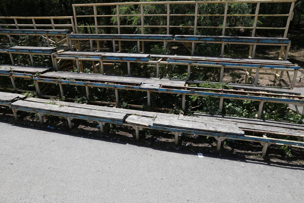 Gradenele de la Velodromul din Parcul