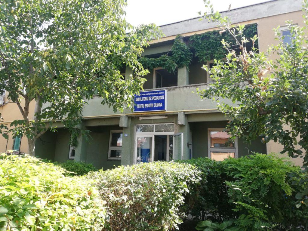 Fonduri europene pentru reabilitarea Policlinicii pentru Sportivi. Reabilitarea Policlinicii pentru Sportivi din Craiova va fi făcută printr-un proiect cu fonduri europene implementat de CJ Dolj